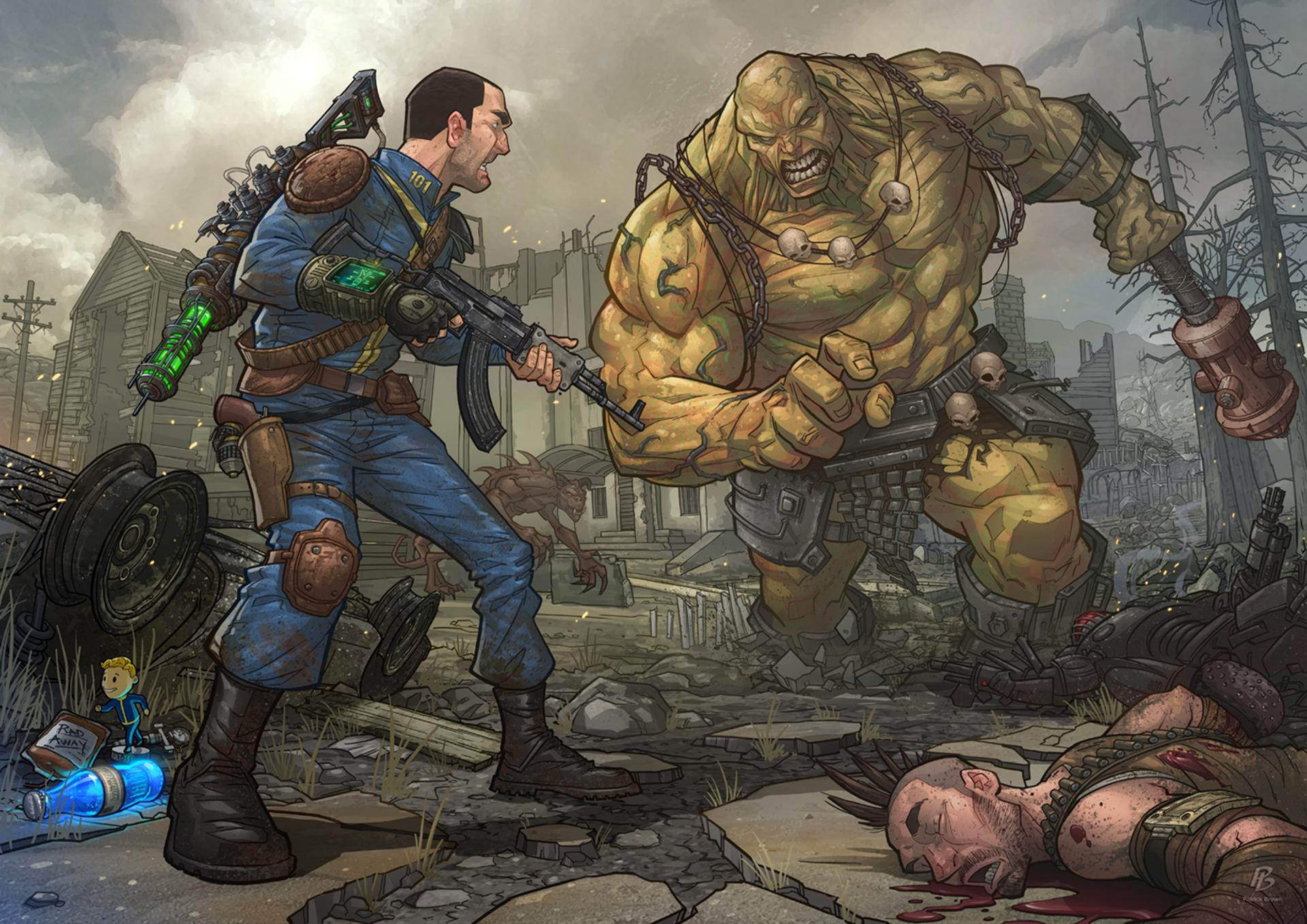 арт - Fallout 4 арт