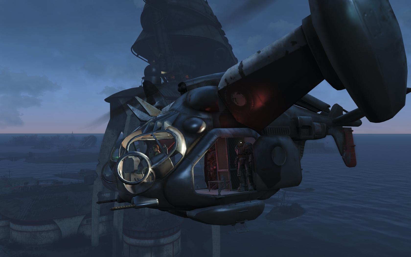Летим к Масс фьюжн #2 - Fallout 4 Винтокрыл