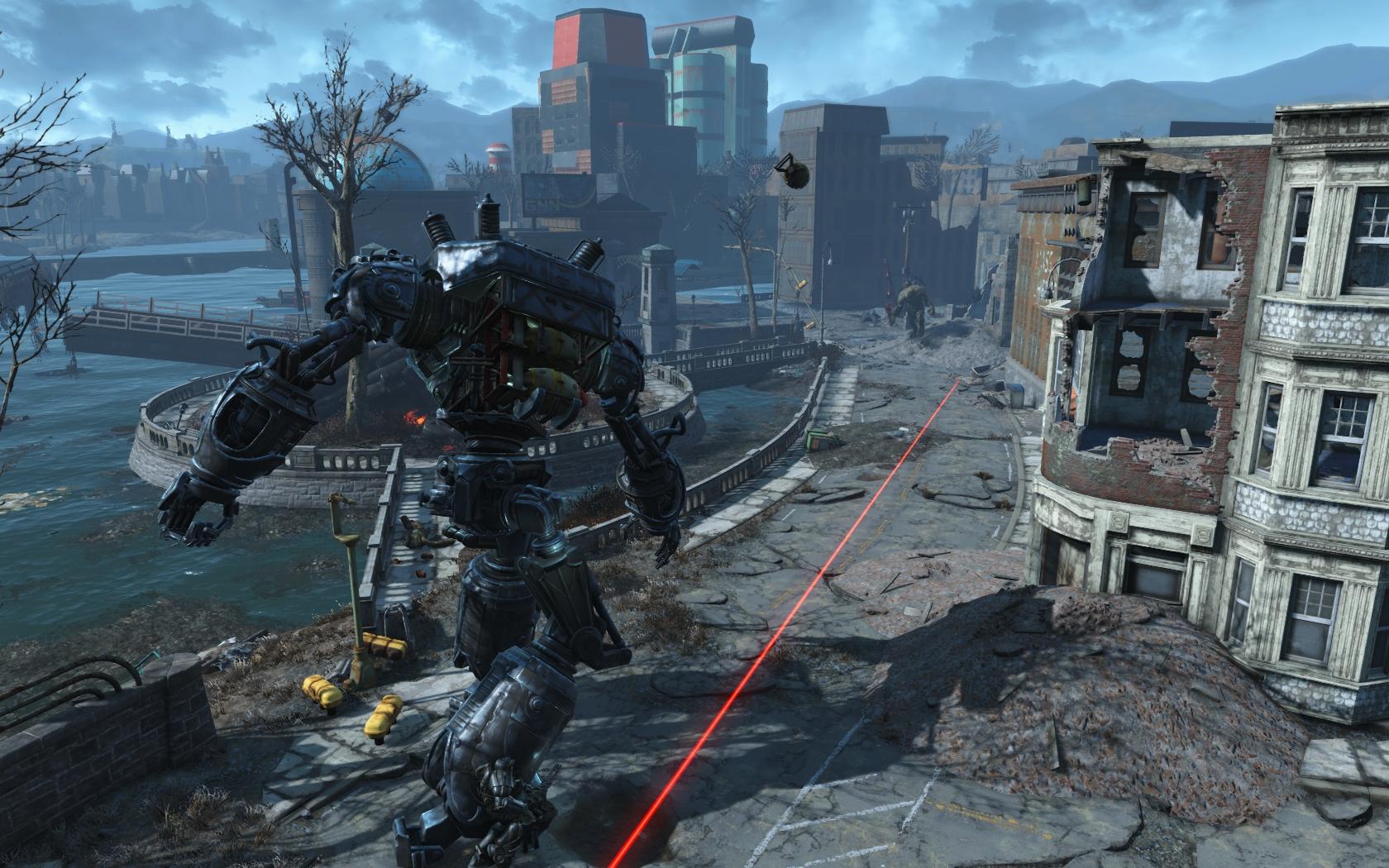 Либерти Прайм (квест Ad Victoriam) #09 - Fallout 4 Братство Стали, Либерти Прайм
