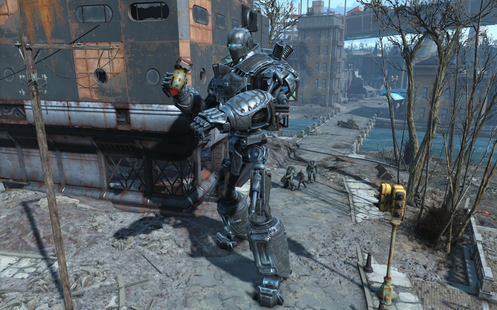 Либерти Прайм (квест Ad Victoriam) #11 - Fallout 4 Братство Стали, Либерти Прайм