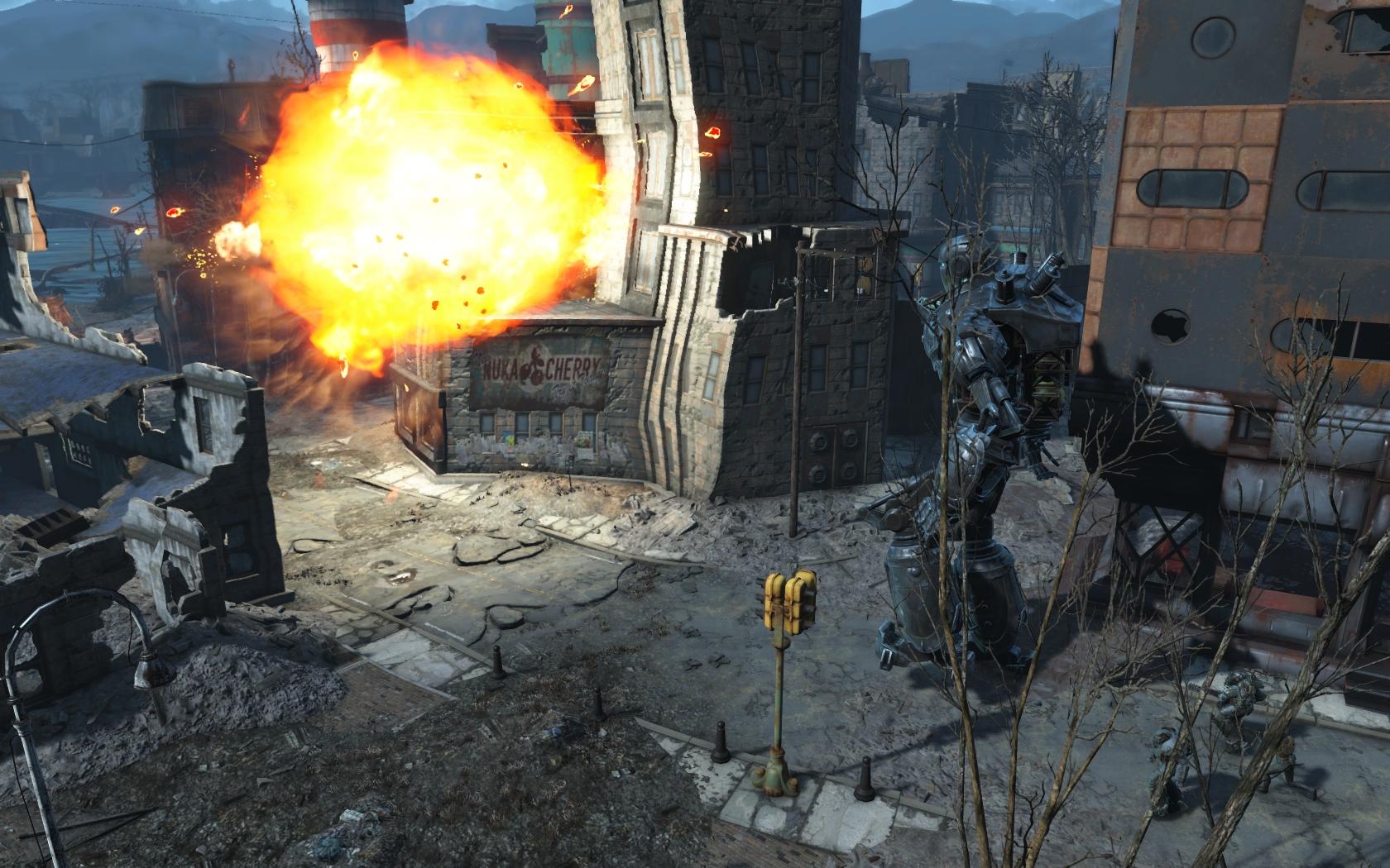 Либерти Прайм (квест Ad Victoriam) #13 - Fallout 4 Братство Стали, Либерти Прайм