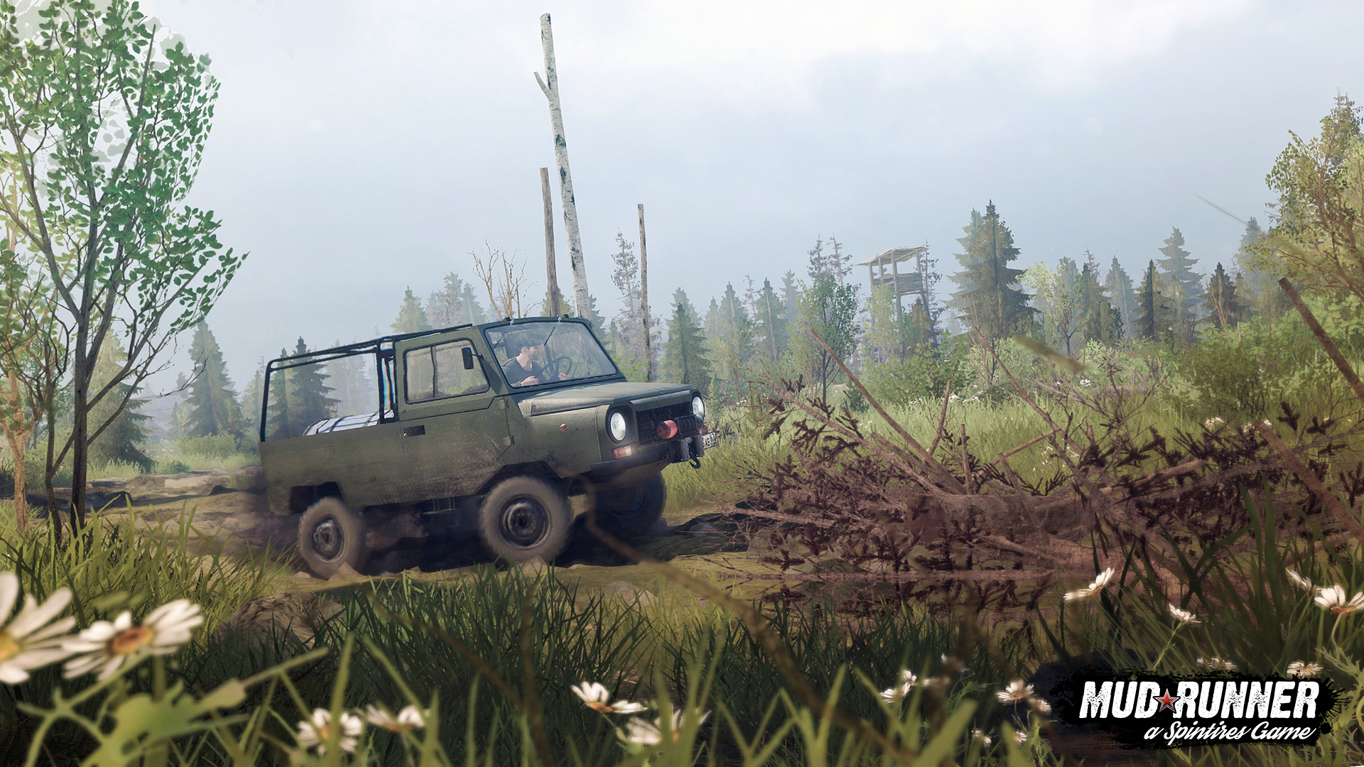 грузовик - Spintires: MudRunner техника, Транспорт