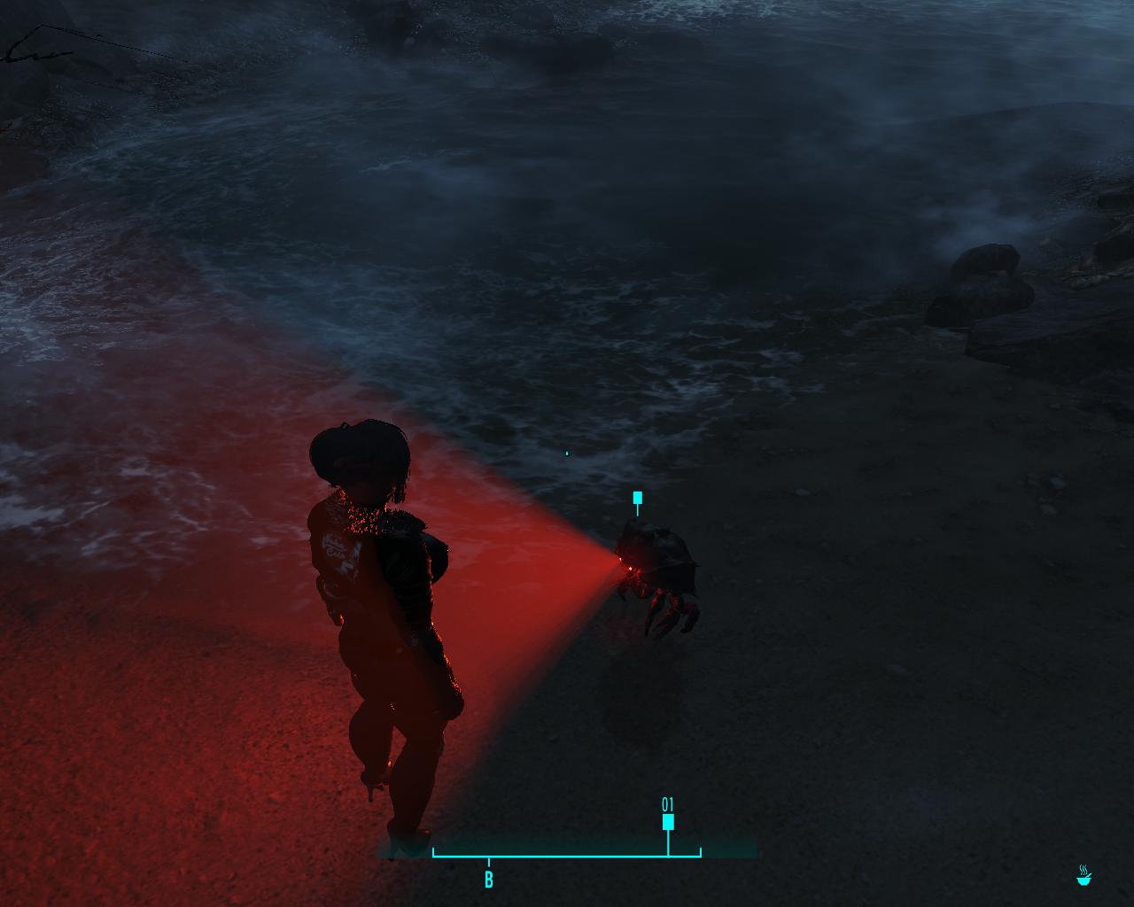 Мэга монстр - Fallout 4 Мне уже страшно!!!