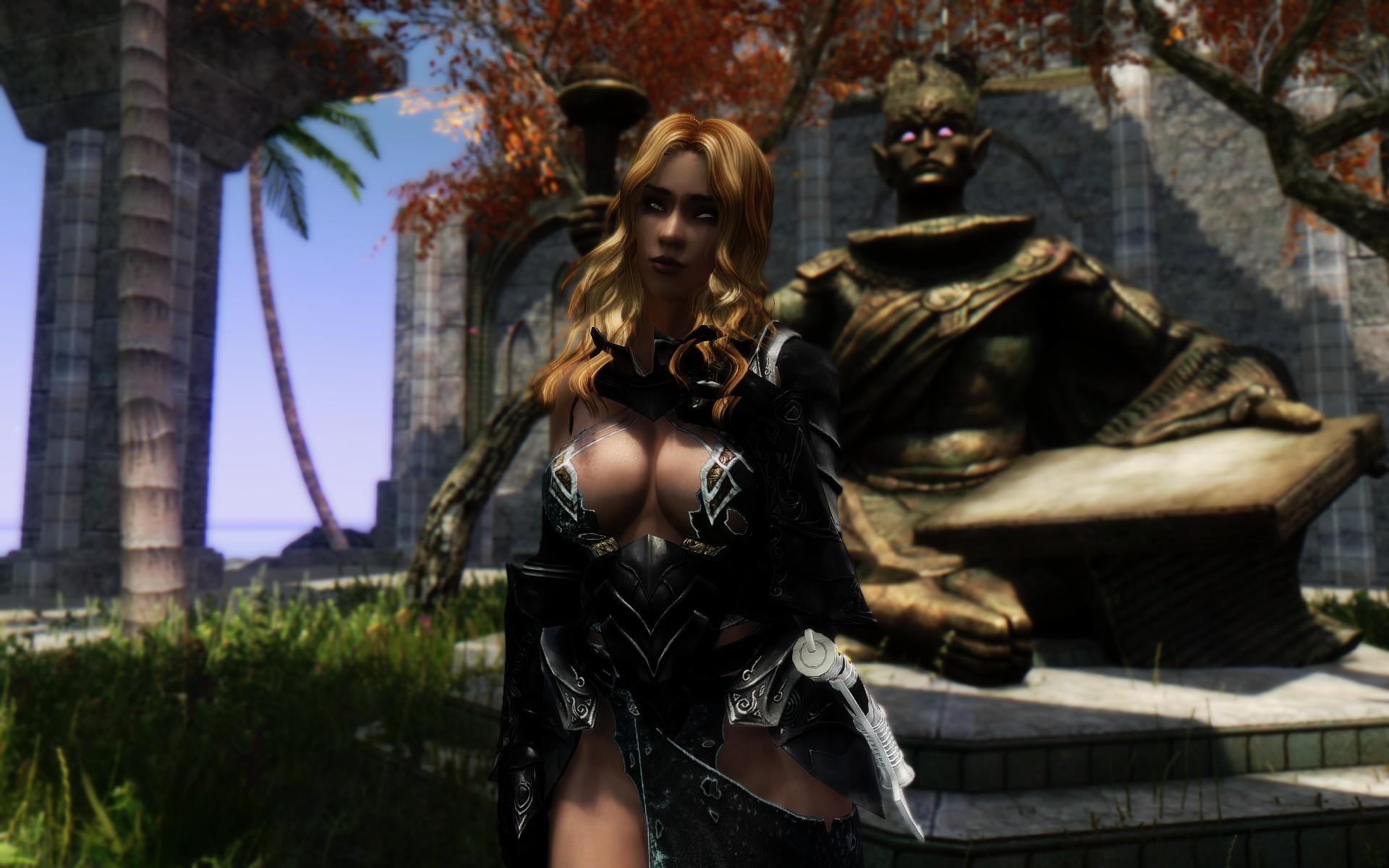 Кстати, ее зовут Ария. )) - Elder Scrolls 5: Skyrim, the
