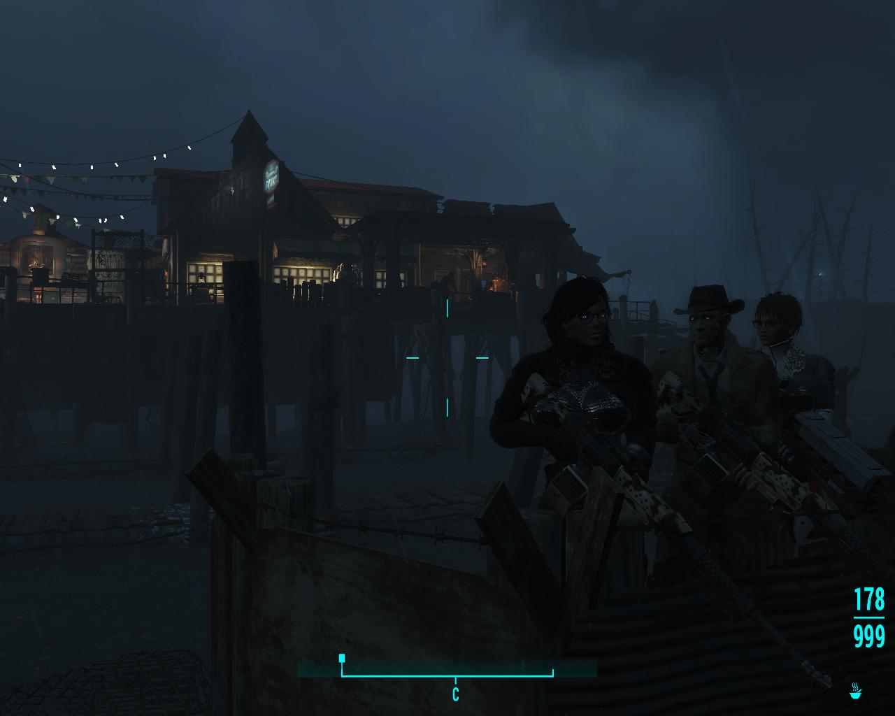 Охрана острова. - Fallout 4 Охрана пирса