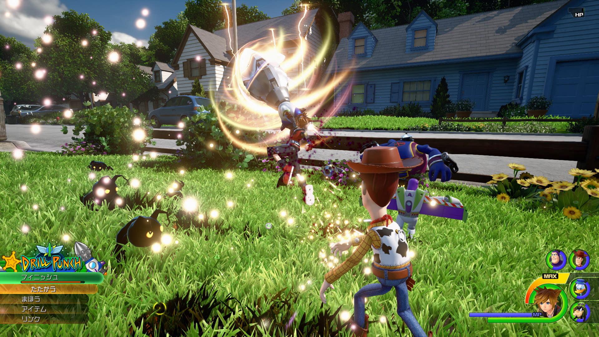 Шериф Вуди, Базз Лайтер и Сора - Kingdom Hearts 3