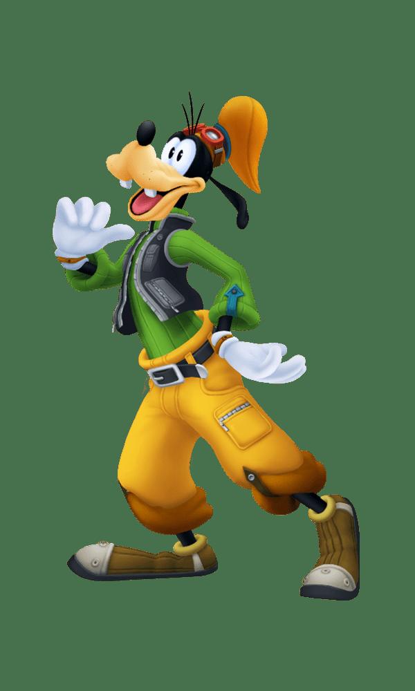 Гуфи - Kingdom Hearts 3 Арт, Персонаж