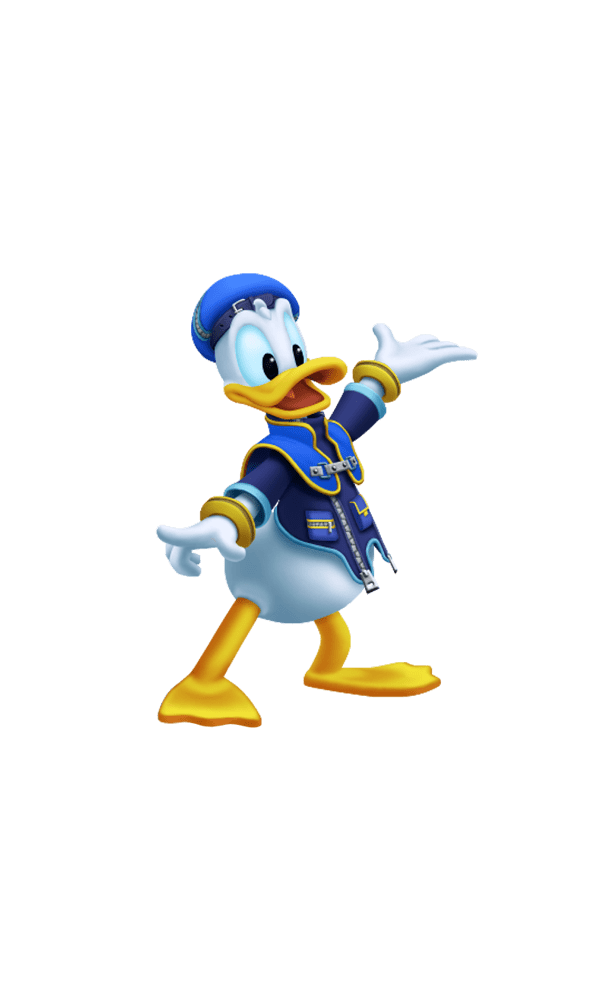 Дональд Дак - Kingdom Hearts 3 Арт, Персонаж