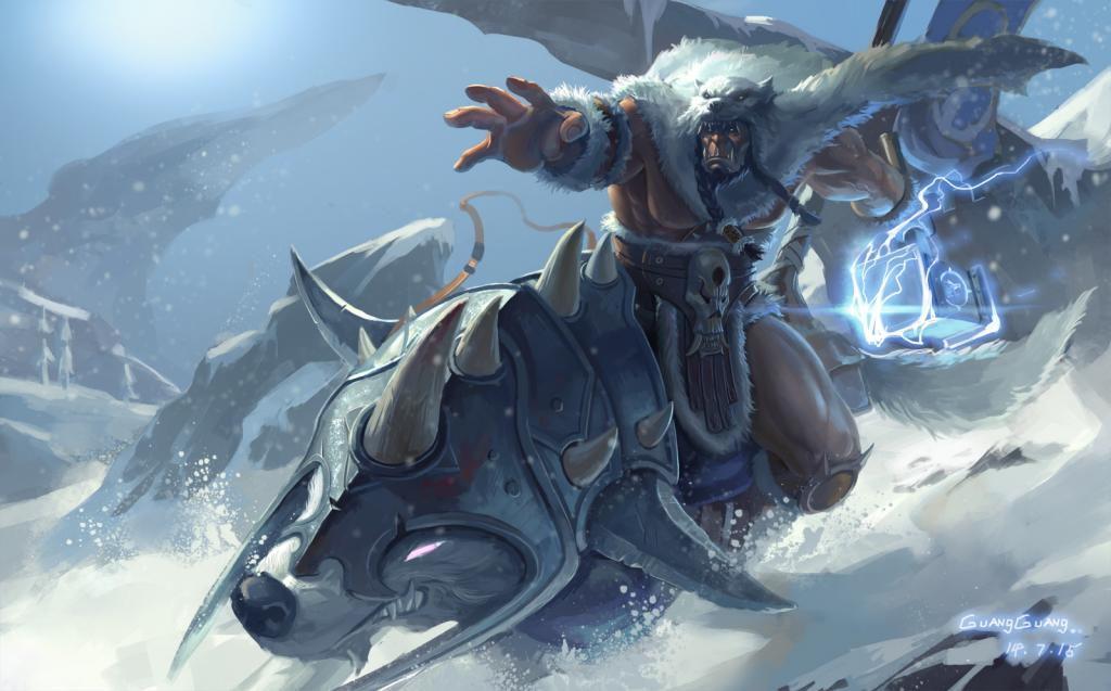 JzP5-LMngog.jpg - World of Warcraft Арт, Северные Волки