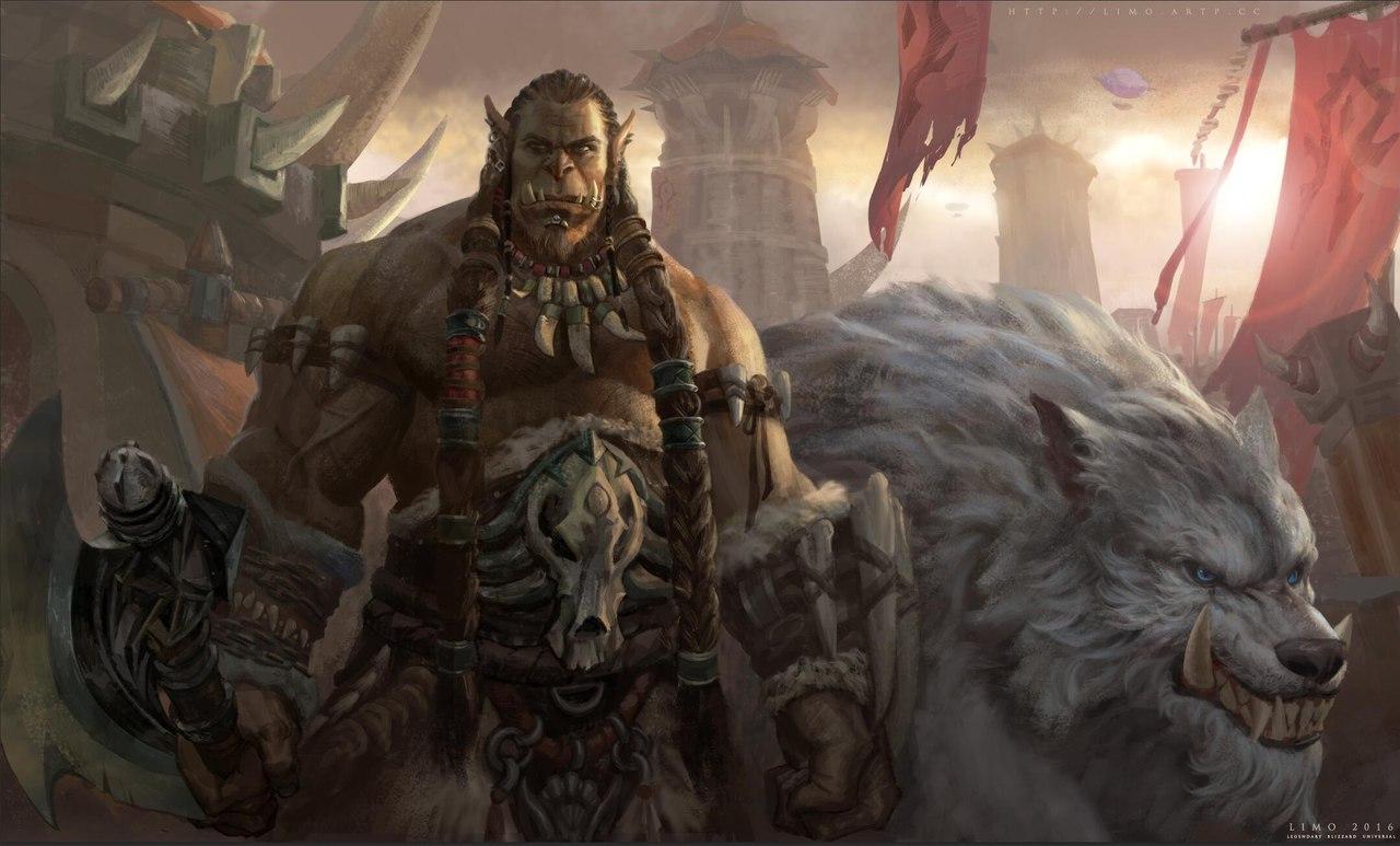 KWc--zKiWDE.jpg - World of Warcraft Арт, Северные Волки