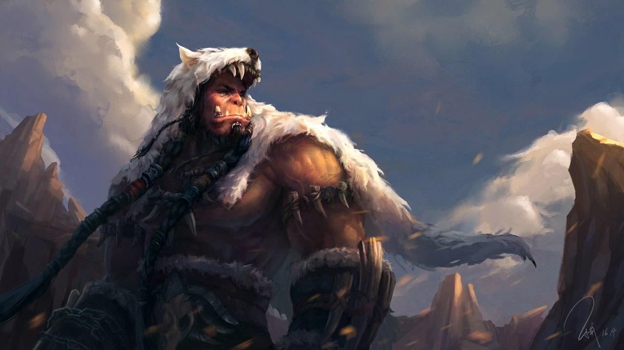 QBzsRm2uyvI.jpg - World of Warcraft Арт, Северные Волки