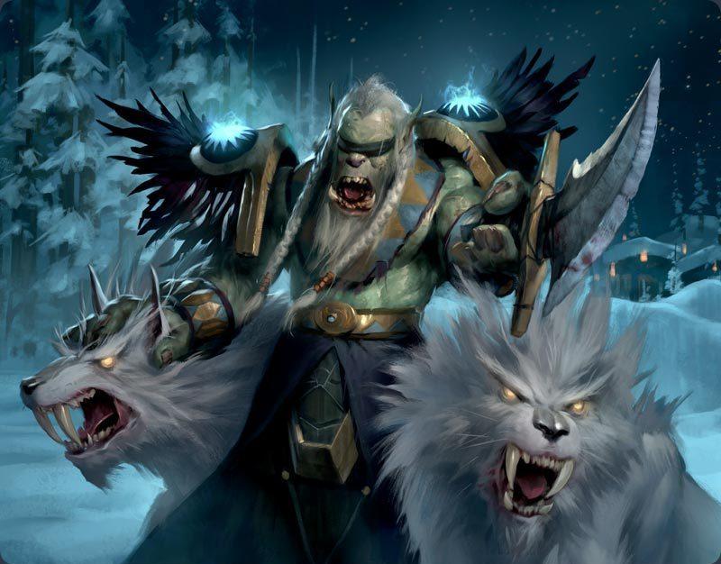 s99yQKsswCs.jpg - World of Warcraft Арт, Северные Волки