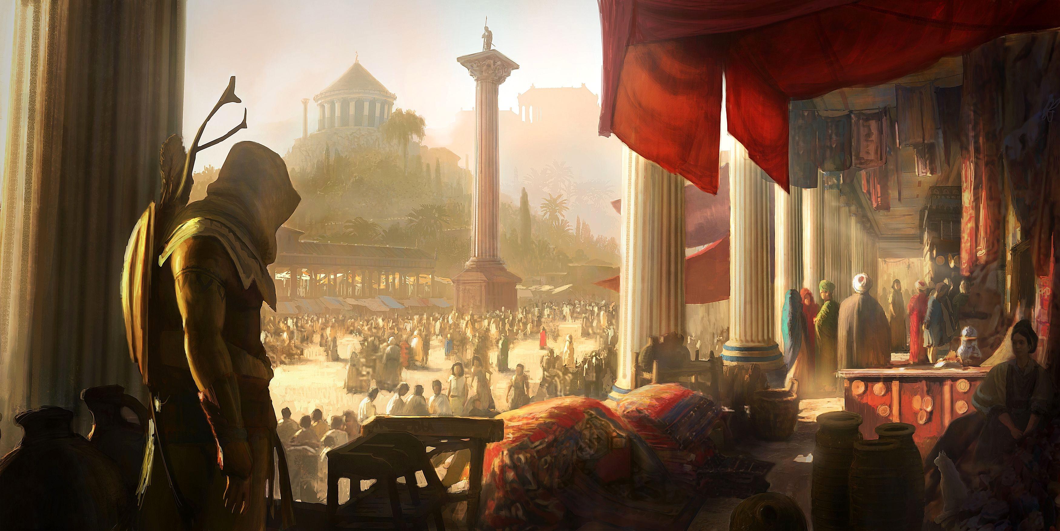 1f8E1ORG.jpg - Assassin's Creed: Origins арт