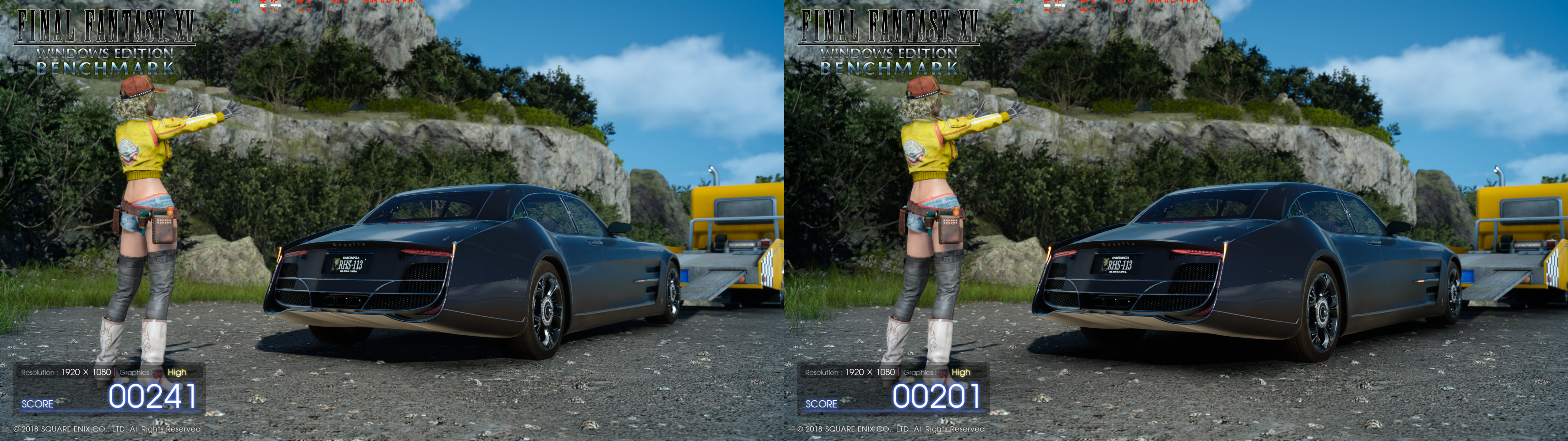 """no-VXAO"" vs ""VXAO"" - Final Fantasy 15 NVIDIA"