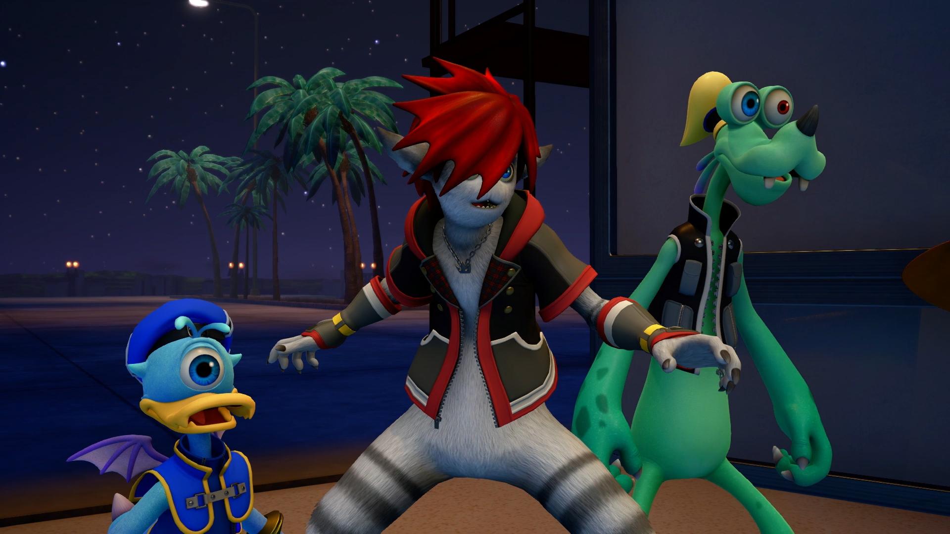 Дональд Дак, Сора и Гуфи - Kingdom Hearts 3