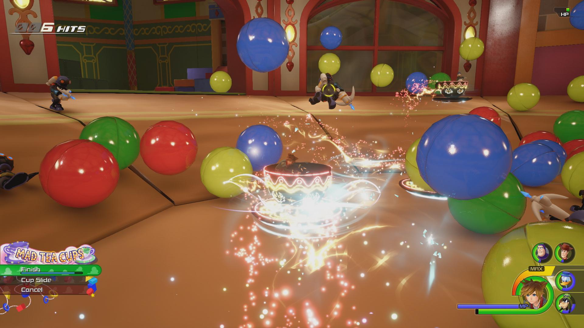 Сражение - Kingdom Hearts 3 Скриншот