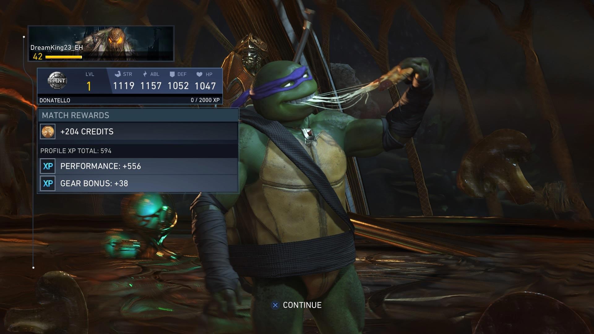 Донателло - Injustice 2 Скриншот, Черепашка