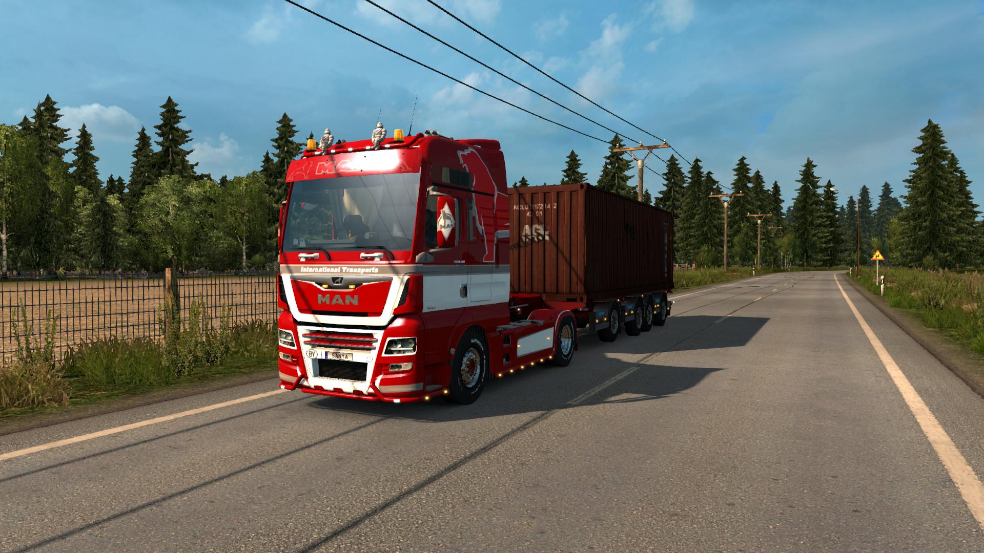 грузовик - Euro Truck Simulator 2 Транспорт