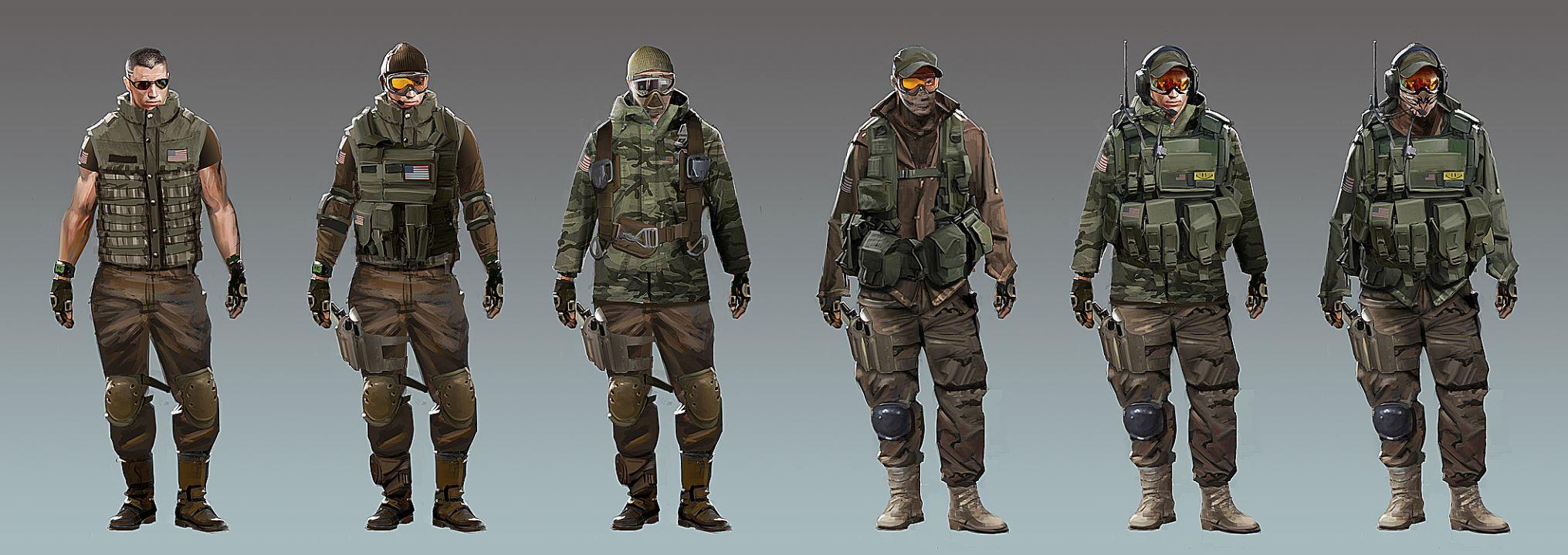 Солдаты США (Аляска) - Modern Combat 3: Fallen Nation Арт