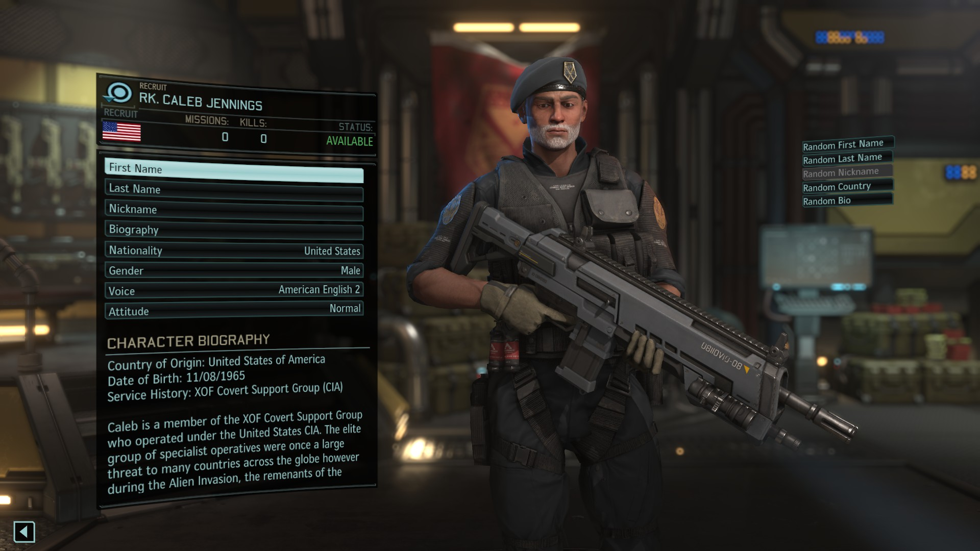 Soldier Customization (K's XOF Character Pack) - XCOM 2 Моды