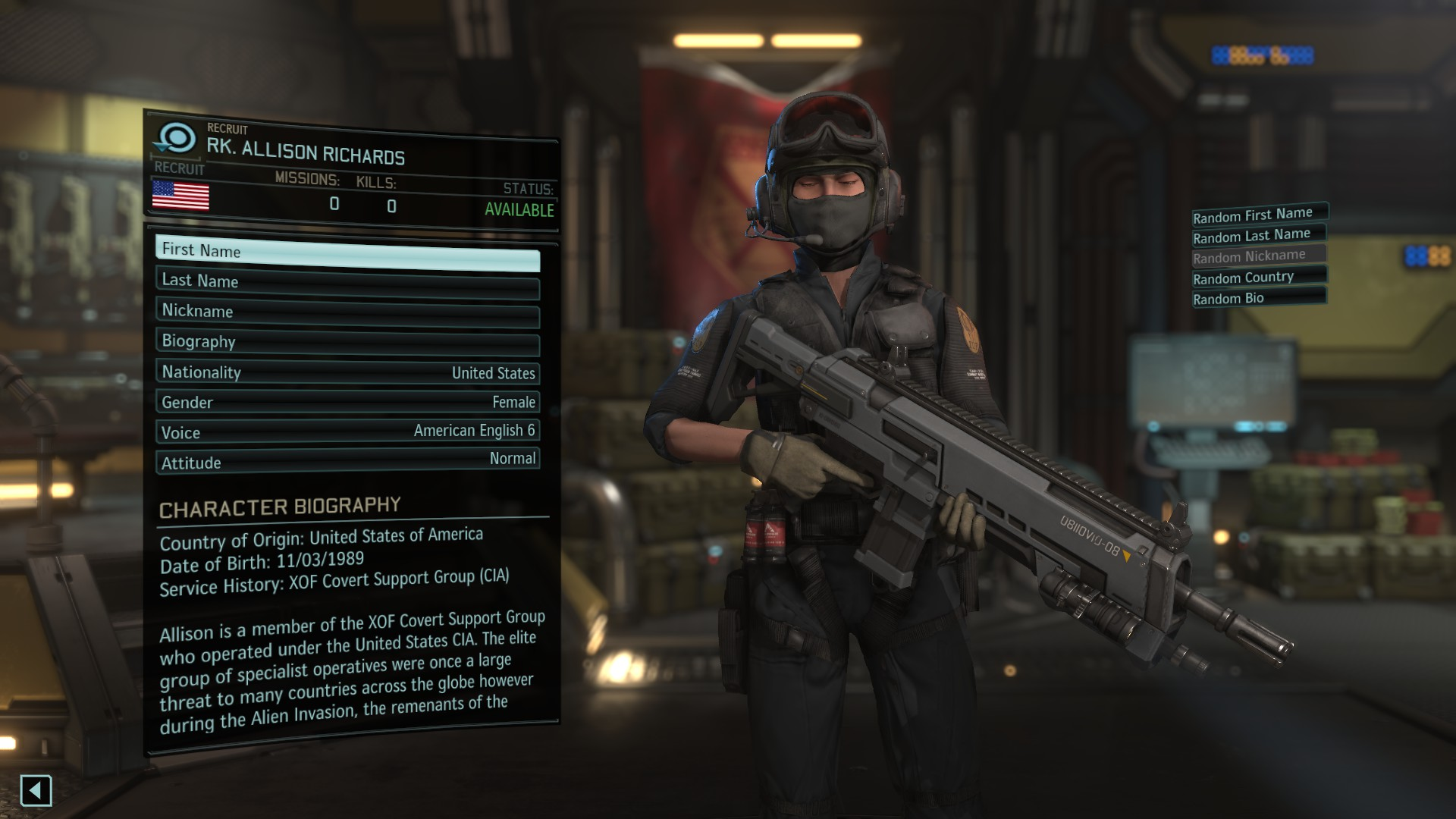 Soldier Customization (K's XOF Character Pack) - XCOM 2 Моды