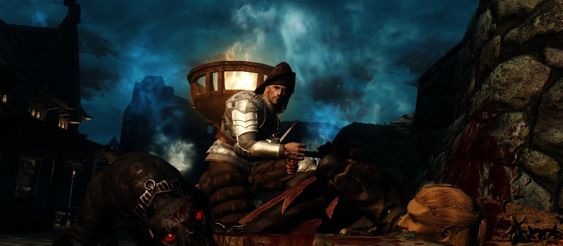 ...Твою же мать! Да это упырь! - Elder Scrolls 5: Skyrim, the Вассал Удачи