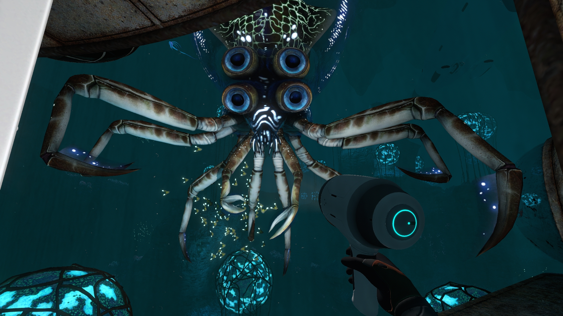 У кого 4 глаза - тот похож на водолаза! - Subnautica