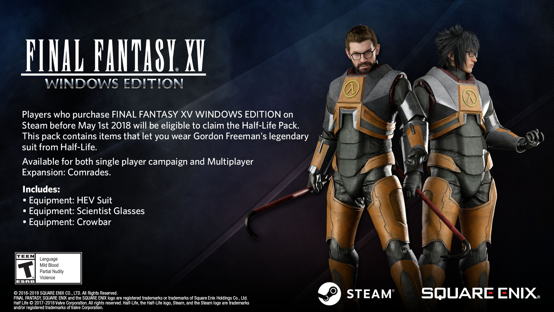 Half-Life Pack - Final Fantasy 15