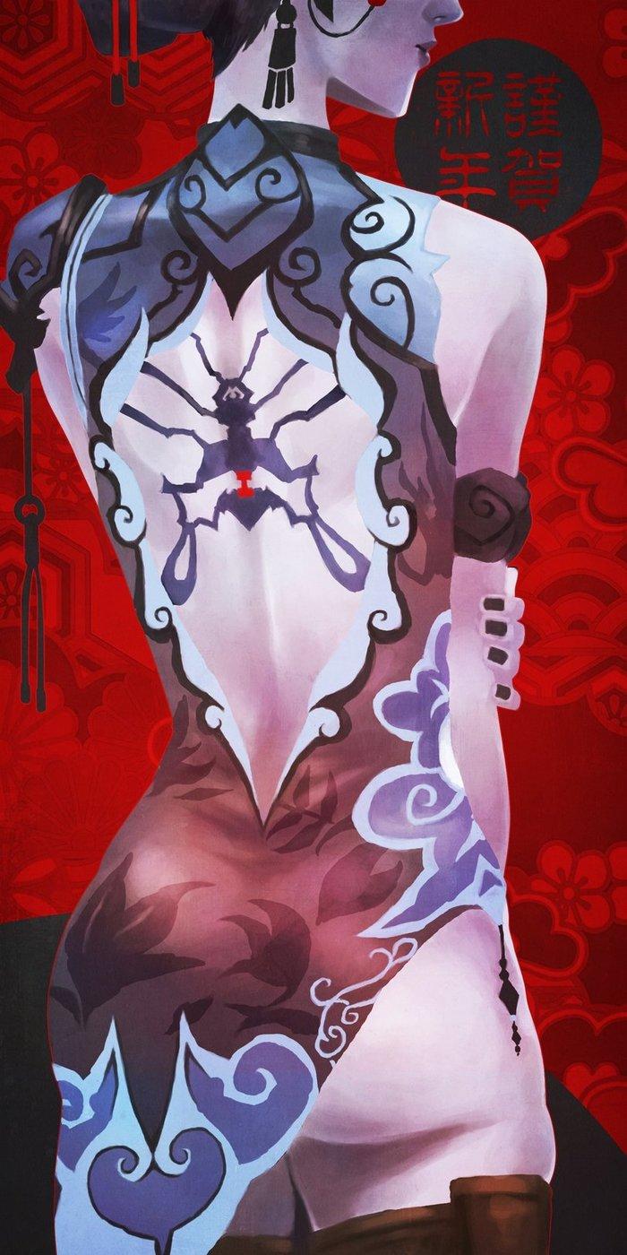 Вдова - Overwatch Персонаж