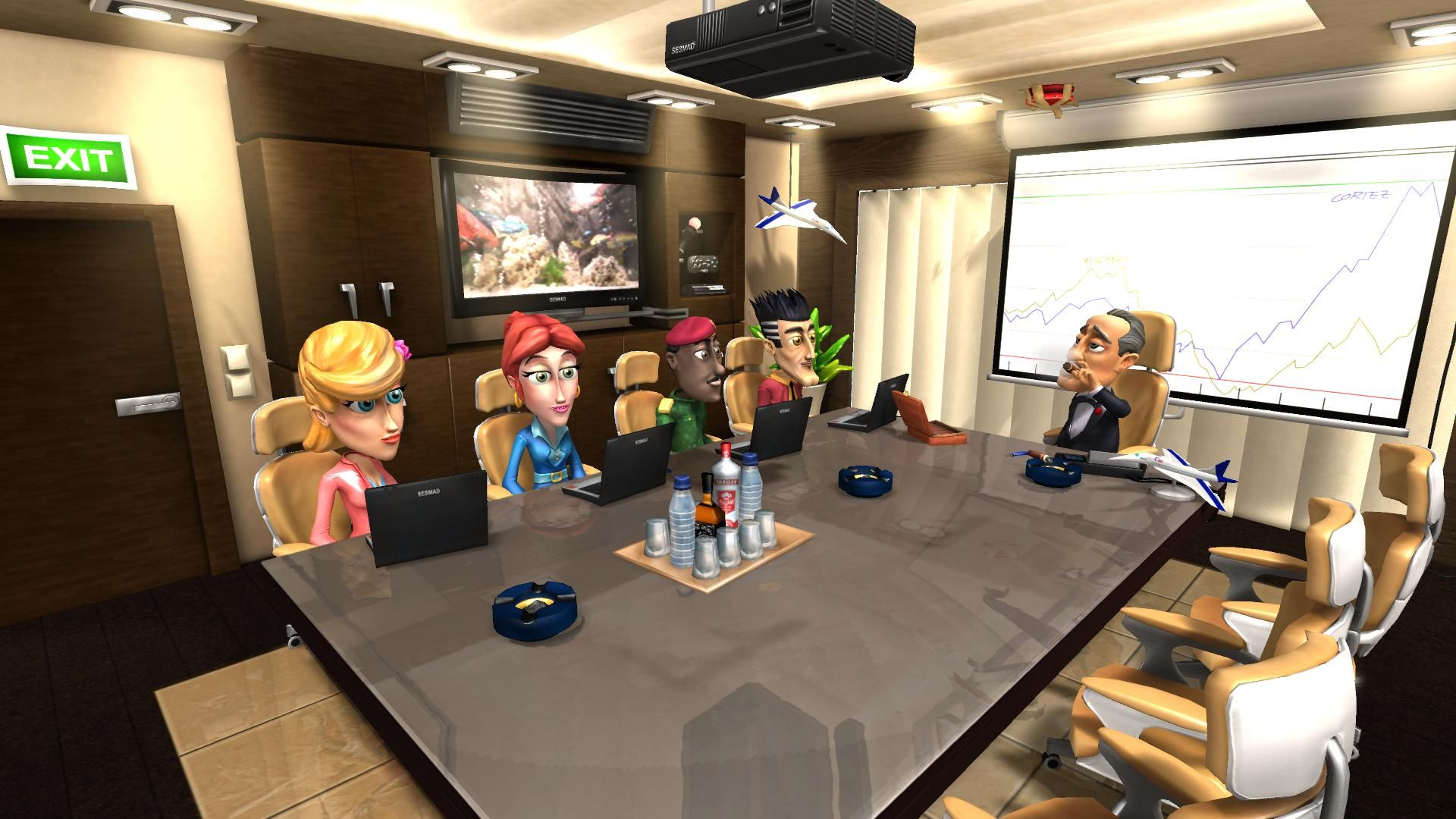 - - Airline Tycoon