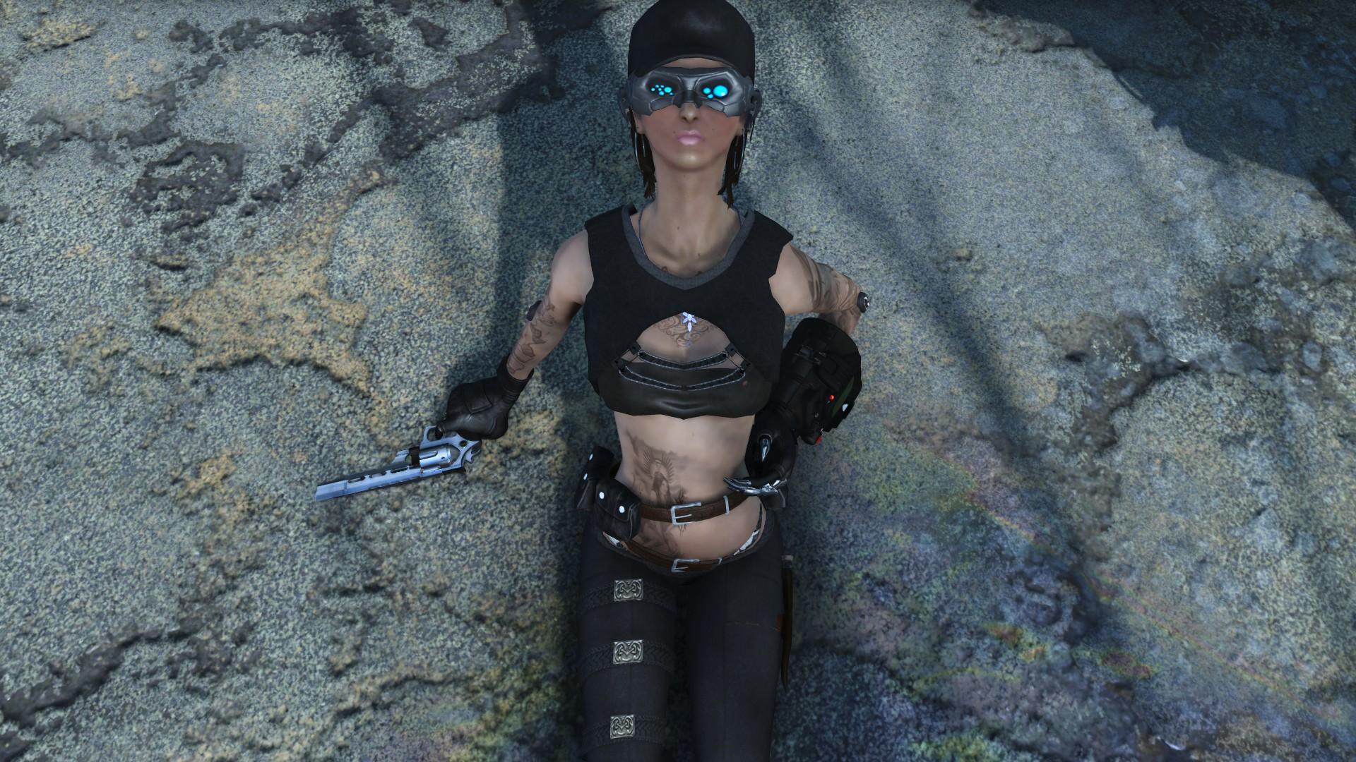 Сексуальная путешественница! - Fallout 4