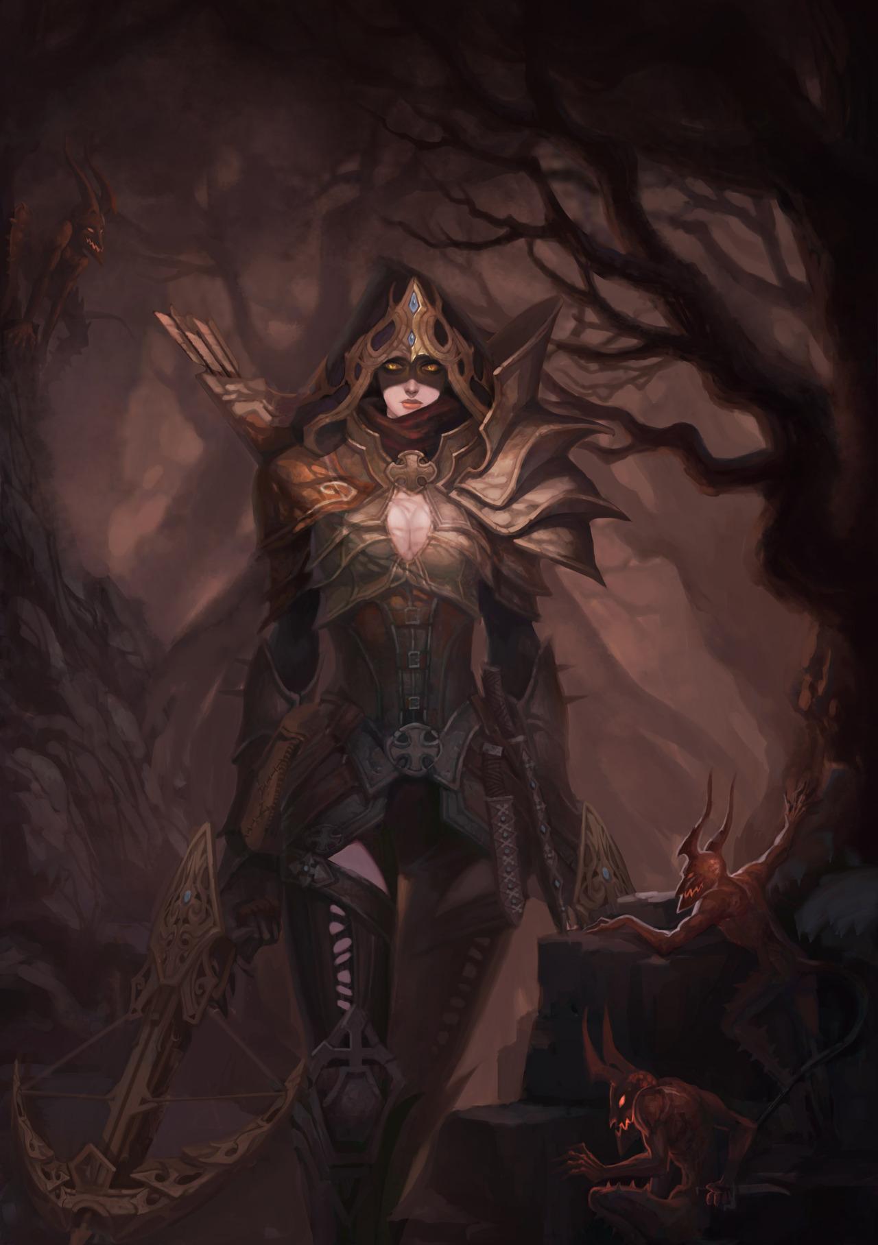 Diablo 3 - Diablo 3 Арт