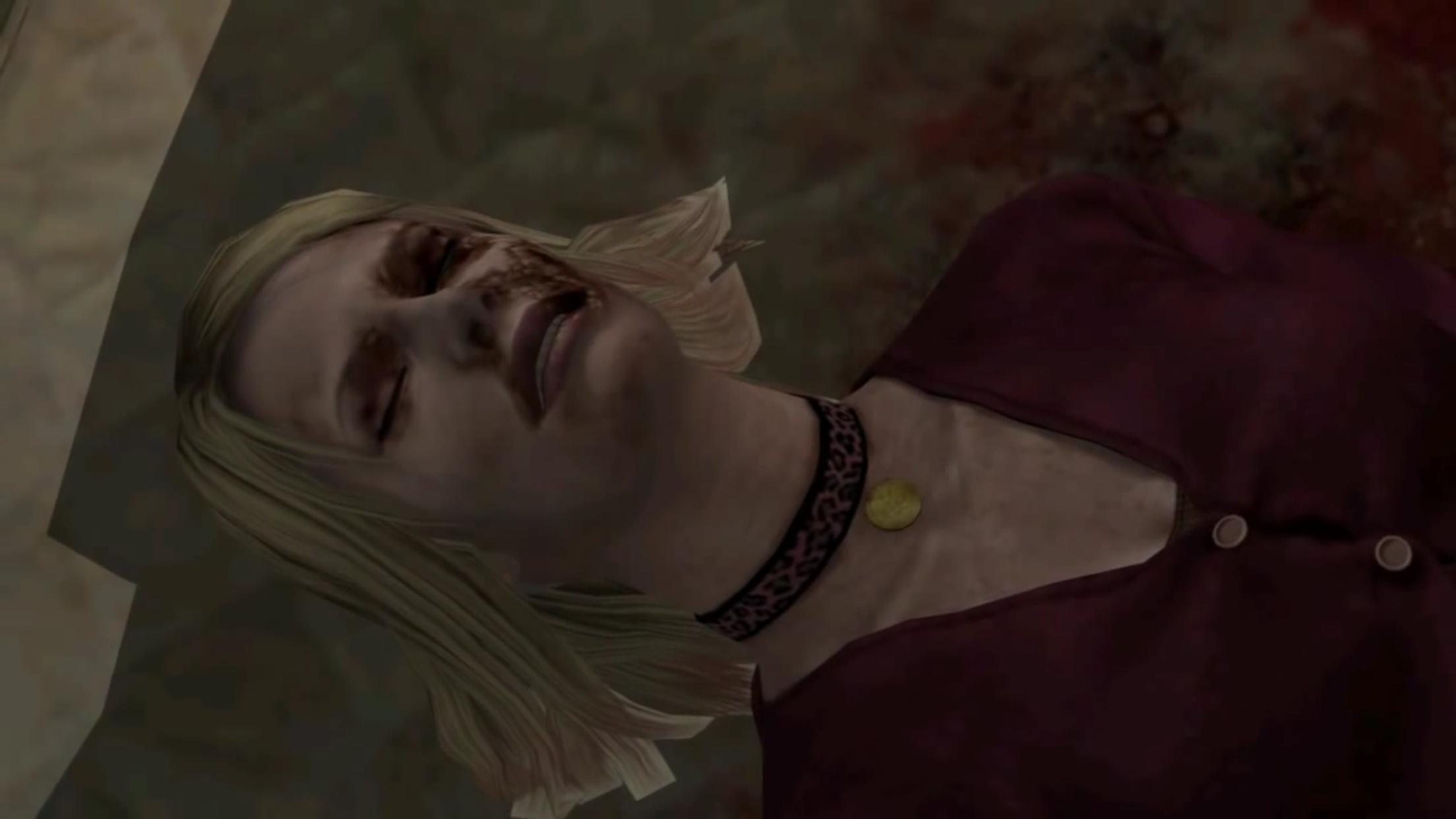Maria-cheek.png - Silent Hill 2