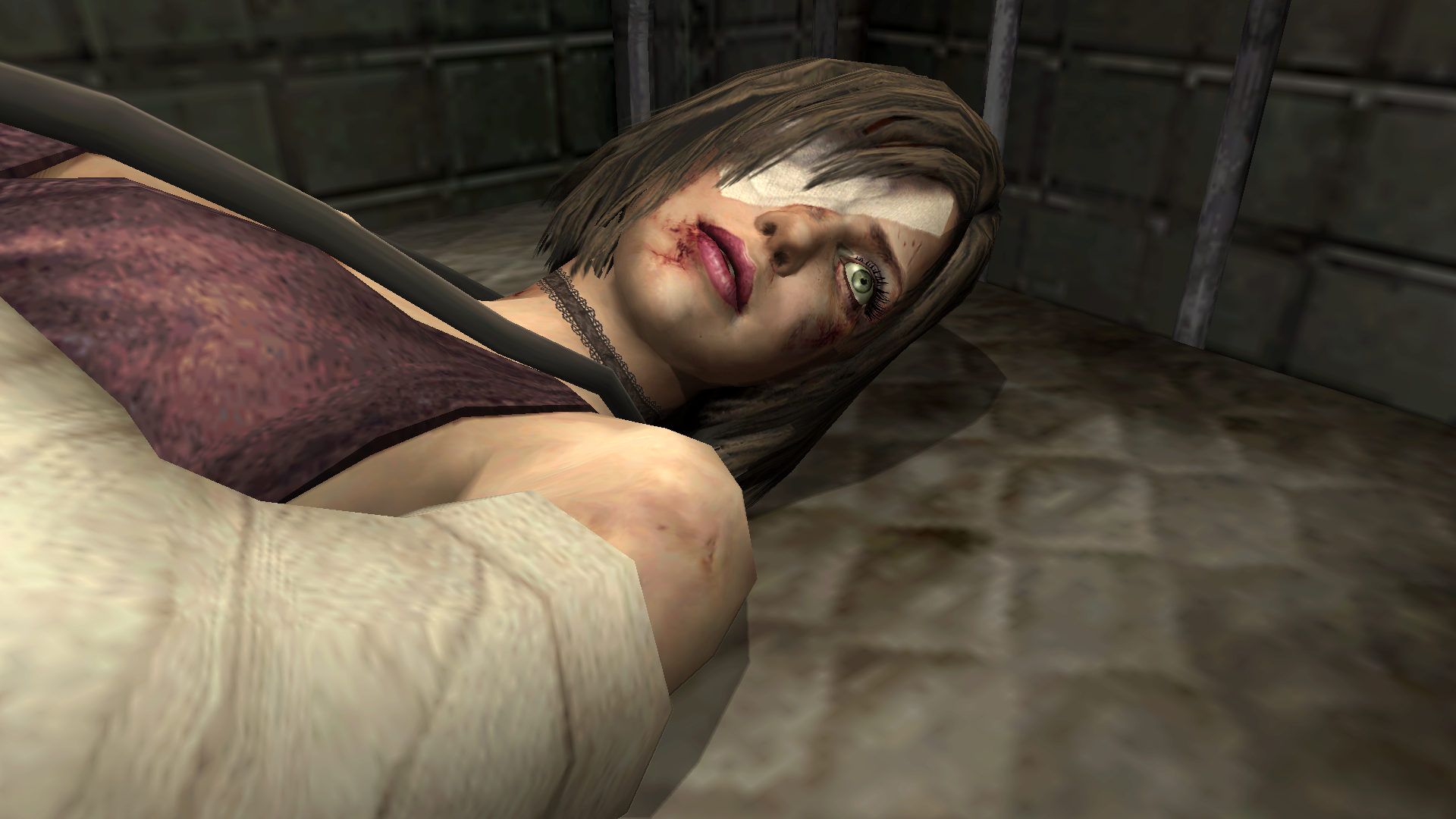 EileenWakesUp.png - Silent Hill 4: The Room