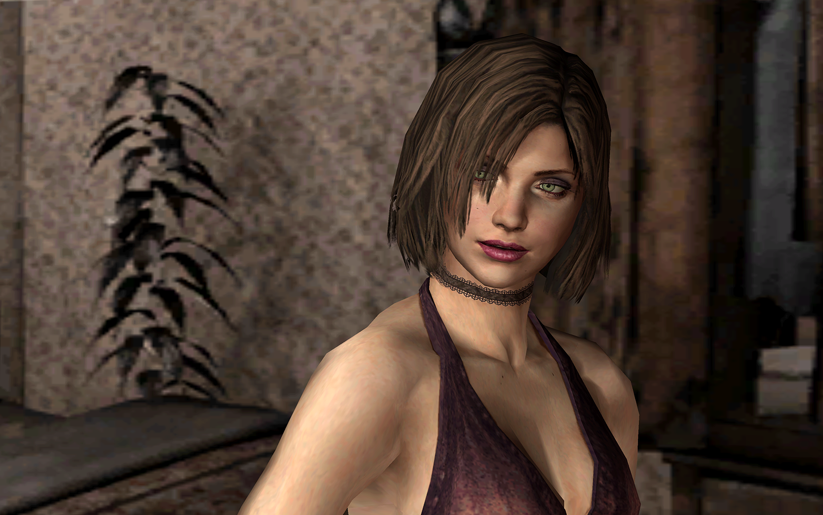 EileenRoomWaits.png - Silent Hill 4: The Room