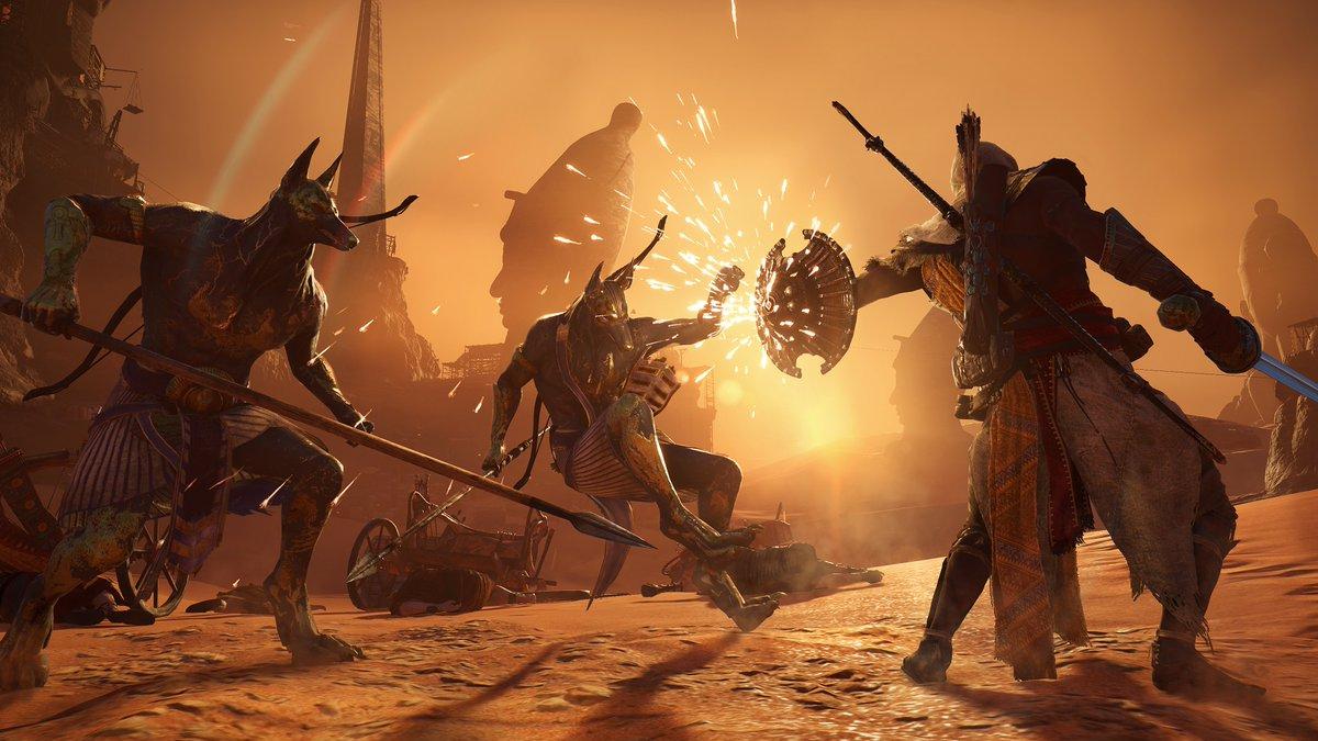 "Assassin's Creed: Origins - DLC ""Проклятие Фараонов"" - Assassin's Creed: Origins DLC"