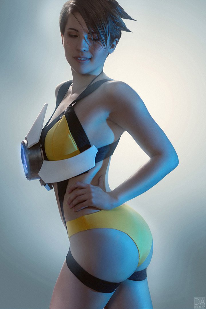 Overwatch Tracer Cosplay Tutorial Top Iwank 1