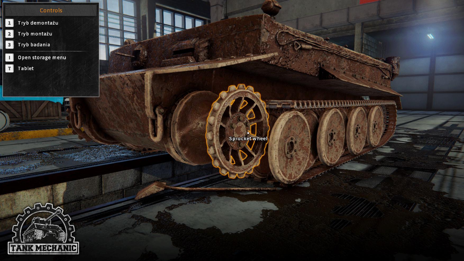 Тигр - Tank Mechanic Simulator