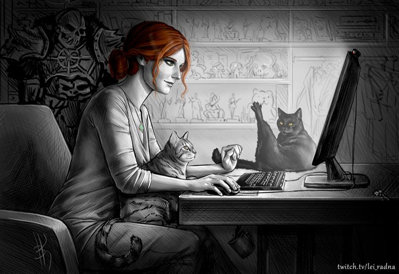 Кулаковская-АВ-artist-Трисс-Меригольд-Witcher-Персонажи-4358770.png - Witcher 3: Wild Hunt, the