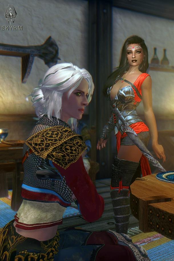 258. Цири.jpg - Elder Scrolls 5: Skyrim, the CBBE, Сборка-21