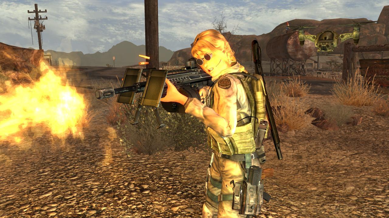 Оружие из Японии. - Fallout: New Vegas