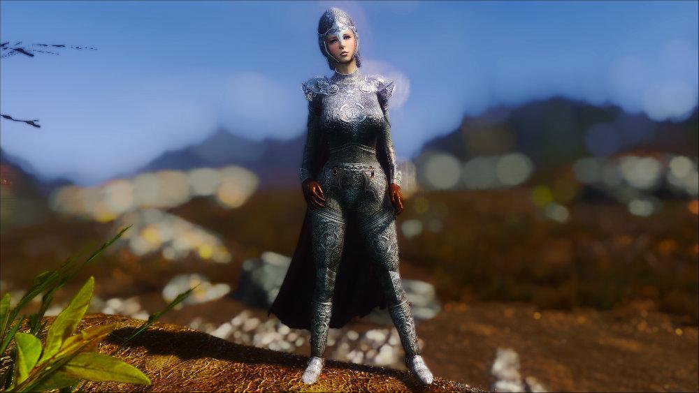 Рыцарская стальная броня - Elder Scrolls 5: Skyrim, the Броня, Моды