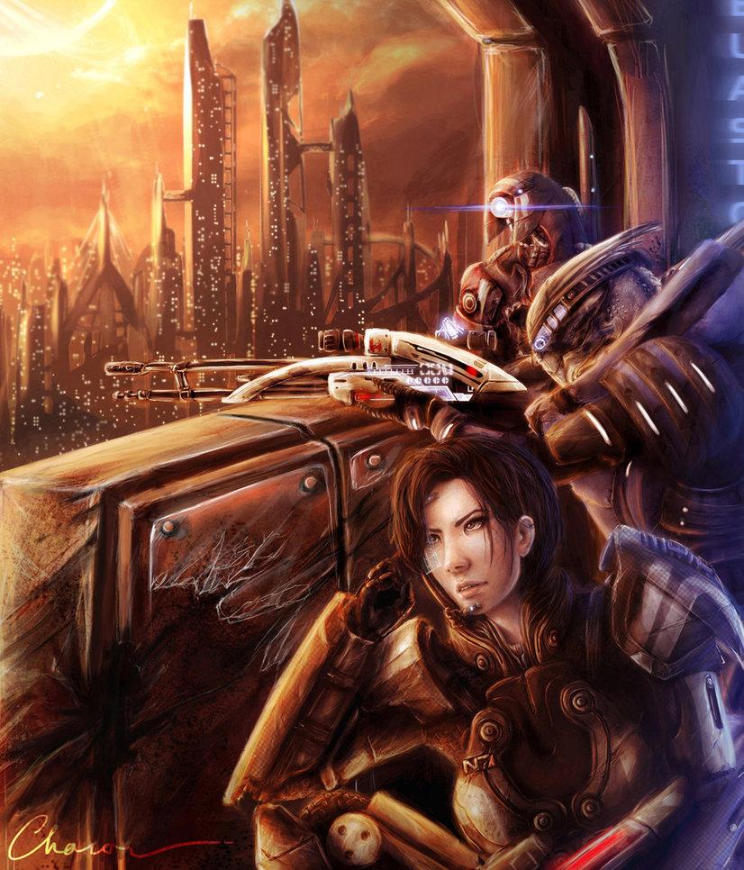 headshot_squad_by_chacou-d34kypc.jpg - Mass Effect 3