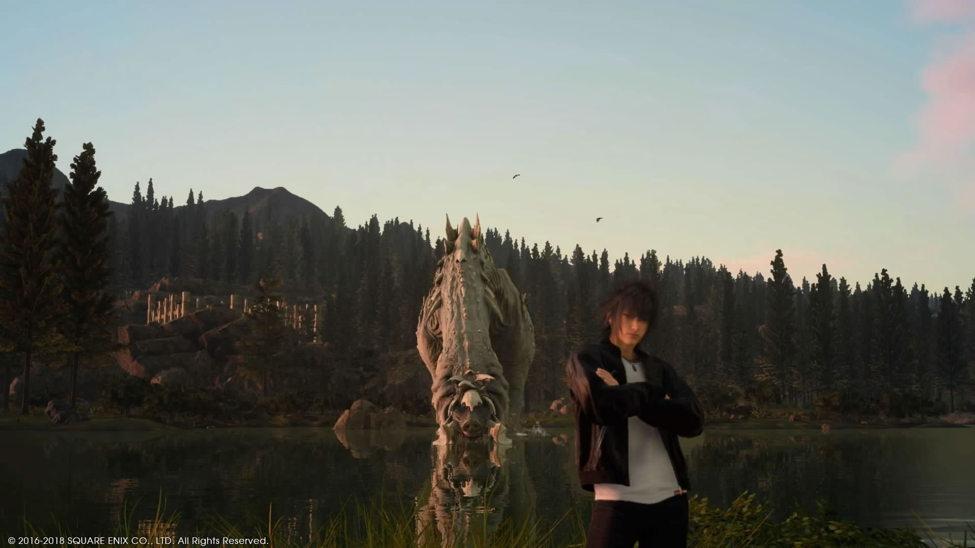Final Fantasy 15 скриншоты с PS4 - Final Fantasy 15