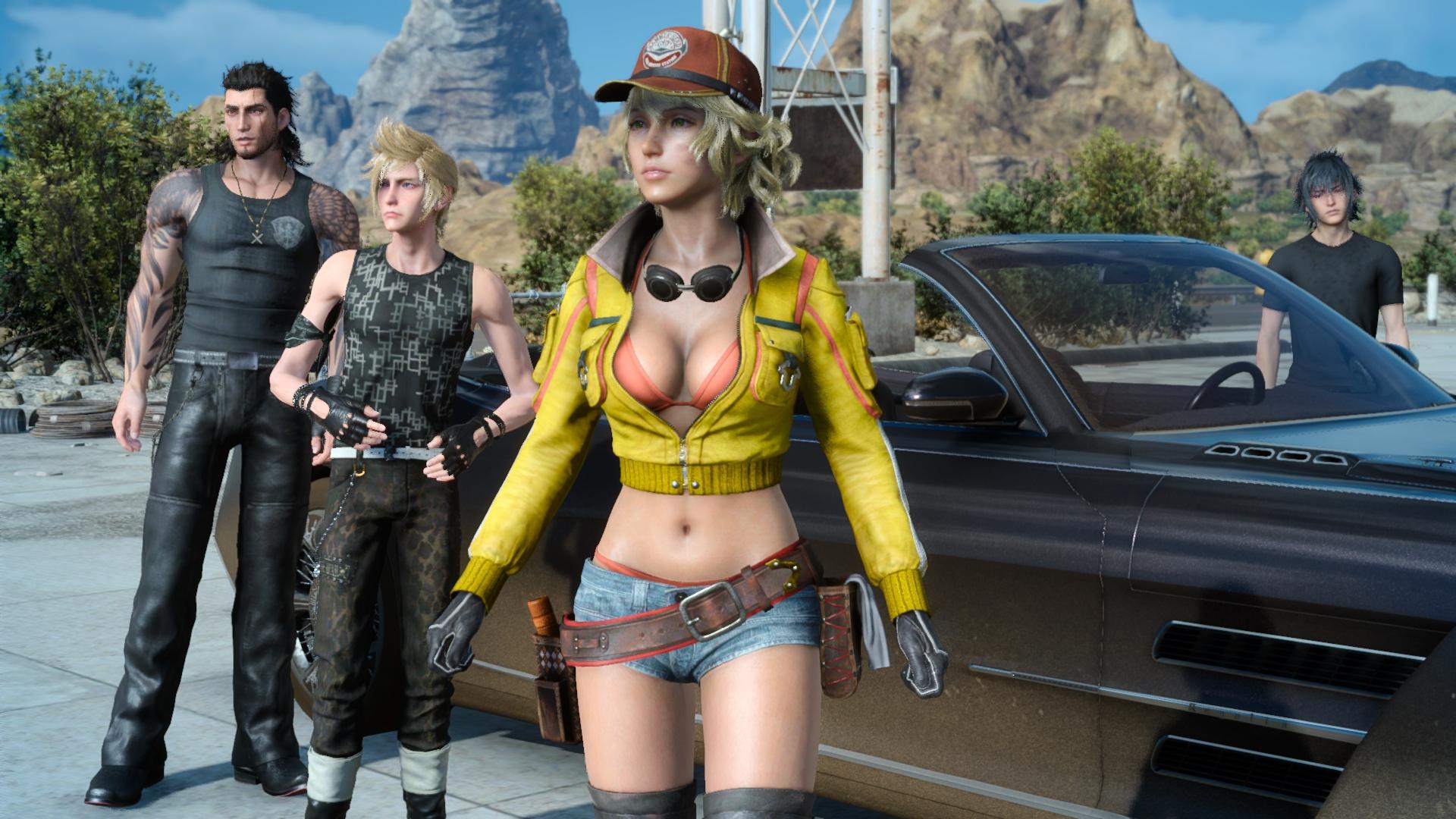 Final Fantasy XV Windows Edition Синди Аурум - Final Fantasy 15
