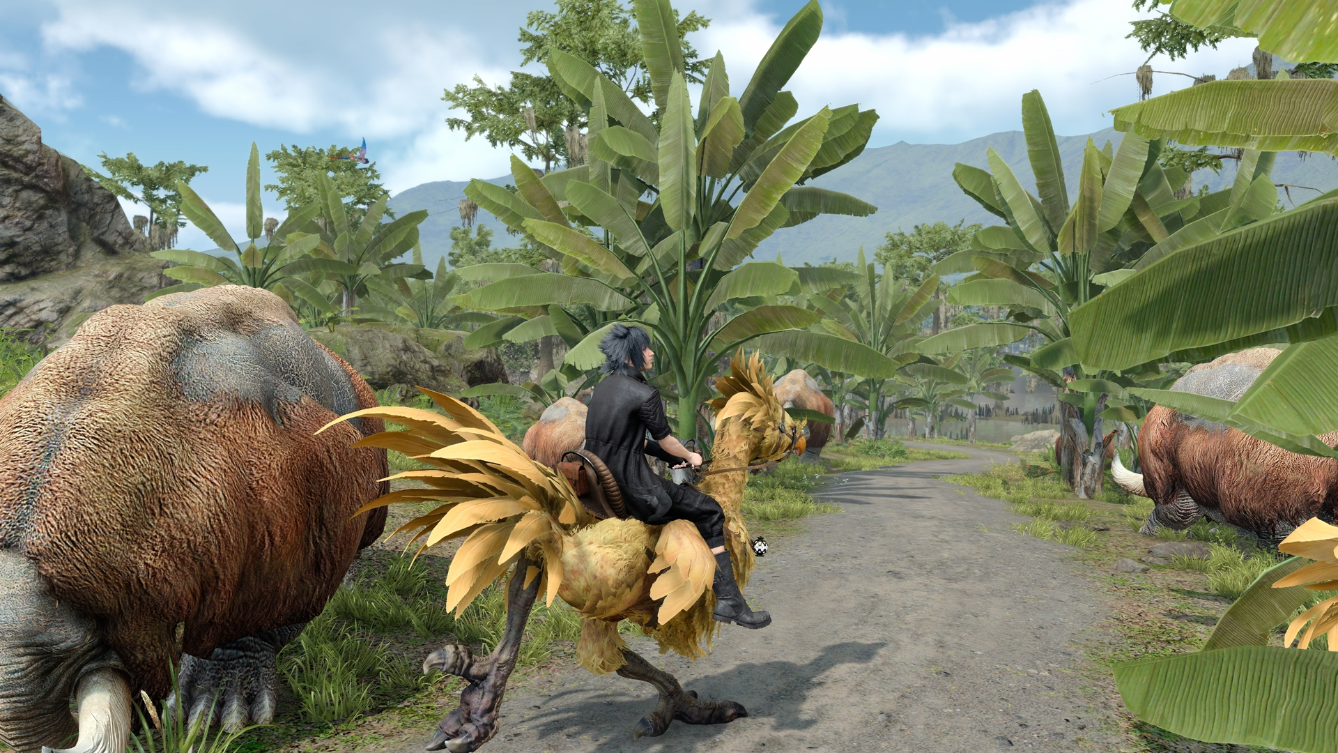 Final Fantasy XV Windows Edition скриншоты с пк - Final Fantasy 15
