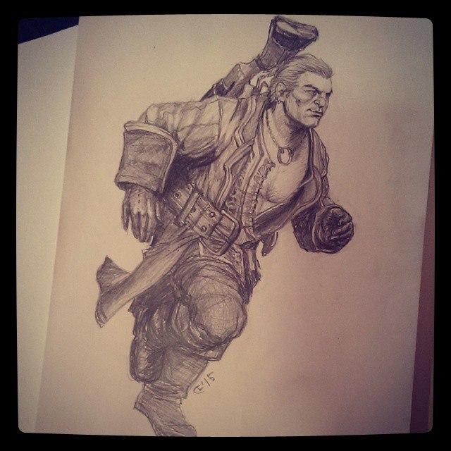 varric_by_lanachestnut-d8cap25.jpg - Dragon Age: Inquisition