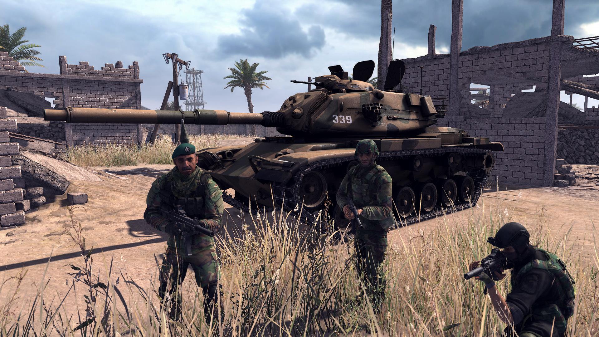 Объединенные Арабские силы - Call to Arms