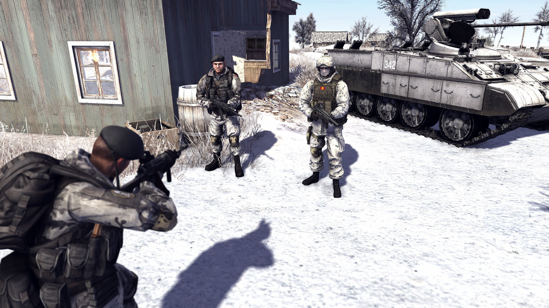 Восточно-европейские повстанцы - Call to Arms