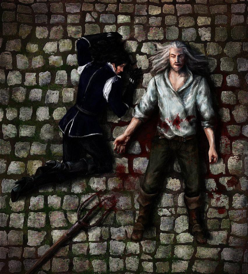 Геральт, Йеннифэр - Witcher 3: Wild Hunt, the